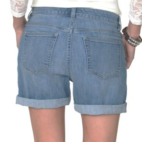 Women's Chaps Cuffed Jean Shorts