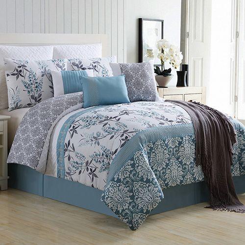 VCNY 10-piece Ashley Comforter Set