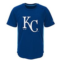 Boys 8-20 Majestic Kansas City Royals Champ Tee