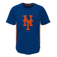 Boys 8-20 Majestic New York Mets Champ Tee