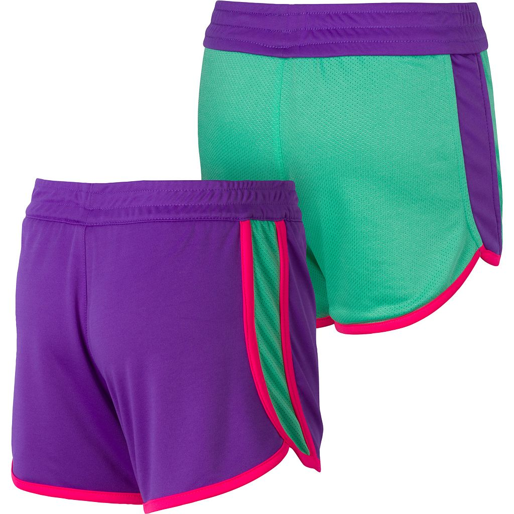 Girls 7-16 New Balance Reversible Performance Shorts