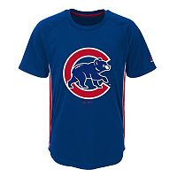 Boys 8-20 Majestic Chicago Cubs Champ Tee