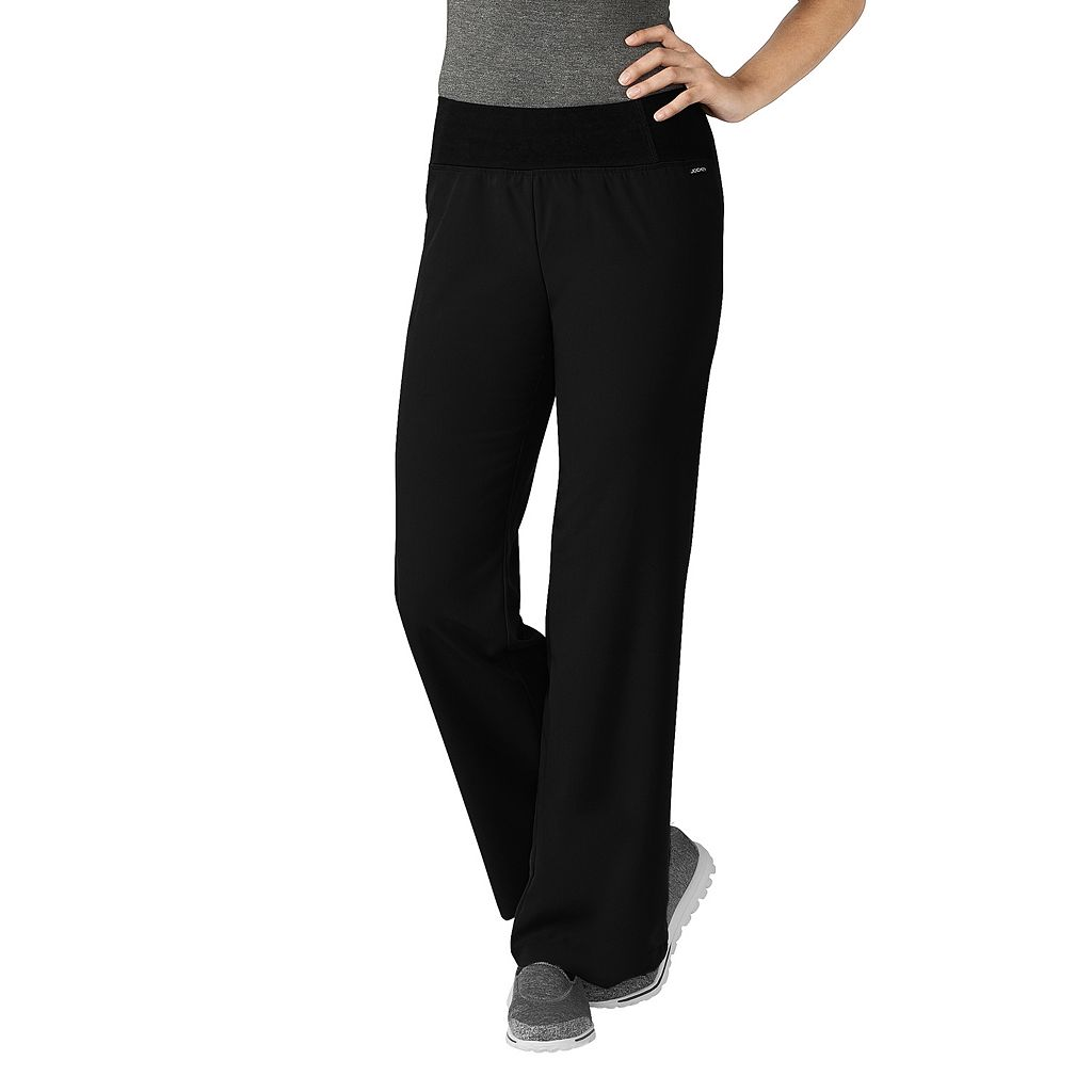 Petite Jockey Scrubs Modern Yoga Pants