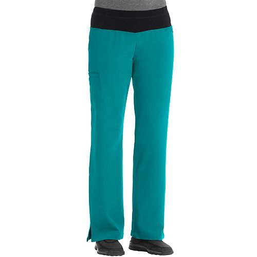 Petite Jockey Scrubs Modern Yoga Pants 2358