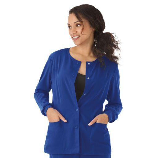 Plus Size Jockey Scrubs Classic  Long Sleeve Jacket