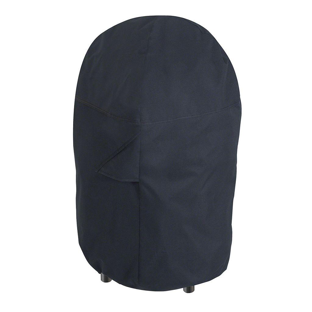 Black Round Smoker Cover