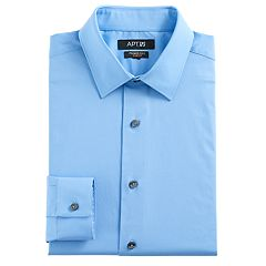 Men's Apt. 9® Slim-Fit Premier Flex Collar Stretch Dress Shirt