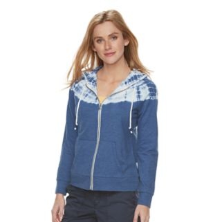 Women's SONOMA Goods for Life™ Tie-Dye French Terry Hoodie