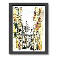 Americanflat Havana Parliament Framed Wall Art