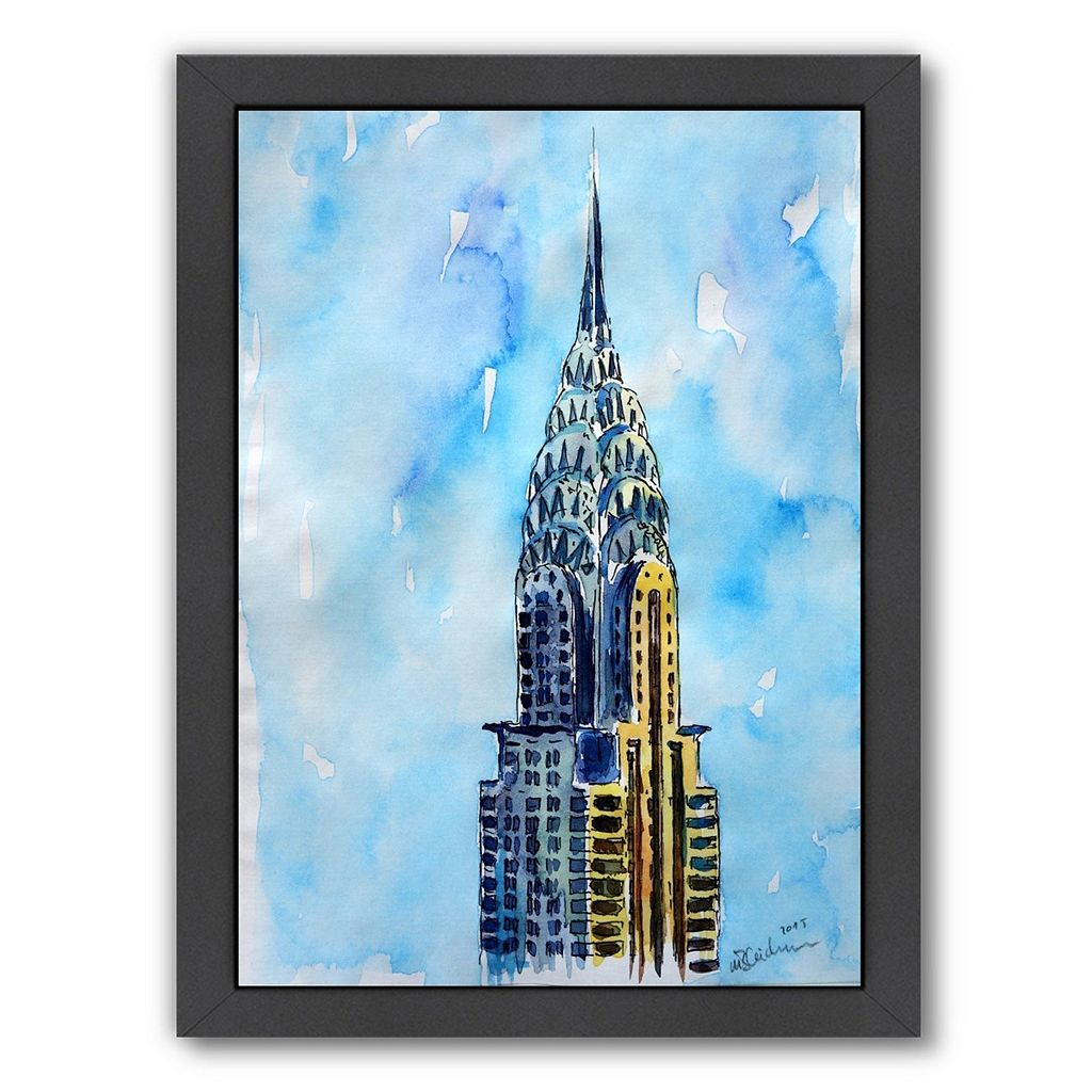 Americanflat NYC Chrysler Building Framed Wall Art