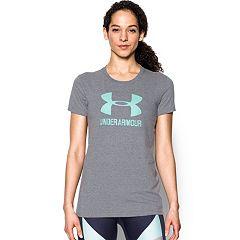 Women's Under Armour Sportstyle Crew Short Sleeve Tee