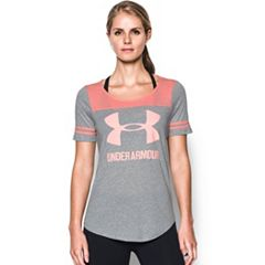 Women's Under Armour Sportstyle Logo Baseball Tee