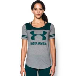 Women's Under Armour Sportstyle Logo Baseball Tee