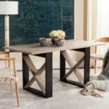 Safavieh Contemporary Modern Dining Table