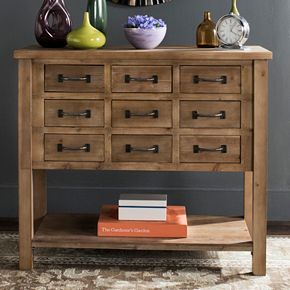 Safavieh Rustic 9-Drawer Storage Cabinet
