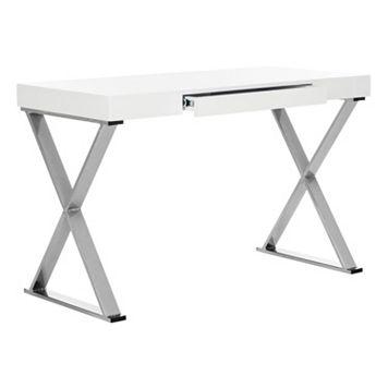 Safavieh Contemporary White 1-Drawer Desk