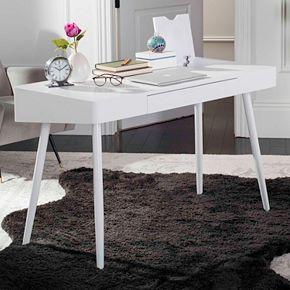 Safavieh Mid-Century Scandinavian 1-Drawer Desk
