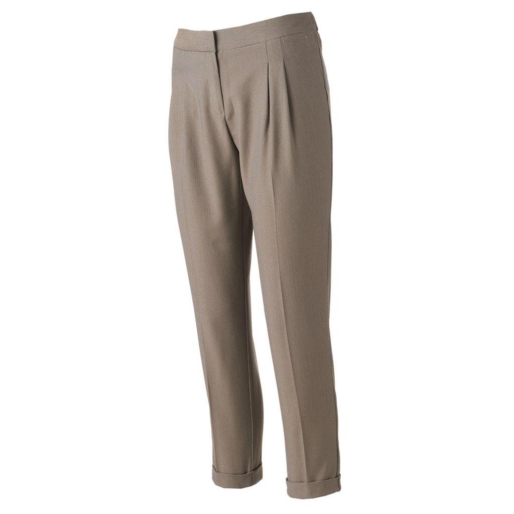Women's Apt. 9® Pleated Skinny Ankle Dress Pants