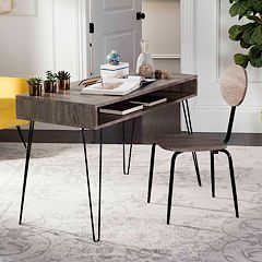 Safavieh Mid-Century Modern Desk & Chair 2-piece Set