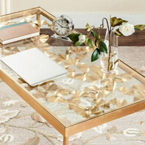 Safavieh Gold Finish Ginkgo Leaf Desk