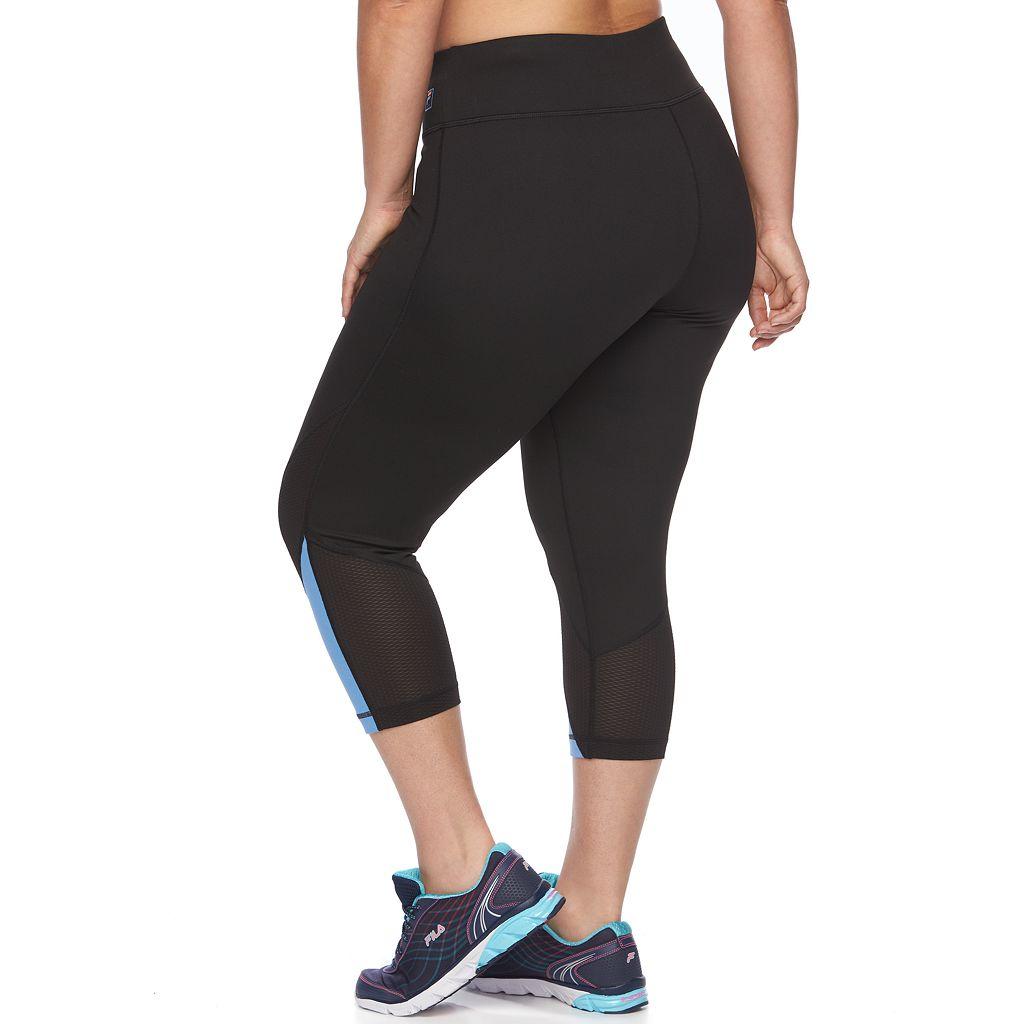 Plus Size FILA SPORT® Workout Crop Leggings