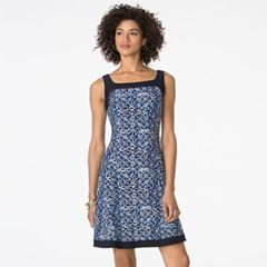 Women's Chaps Fit & Flare Dress