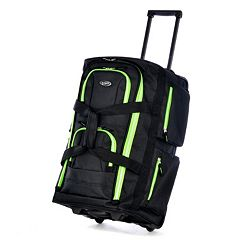 Olympia 8-Pocket Rolling Duffel Bag