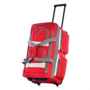 Olympia 8-Pocket Rolling Duffel Bag
