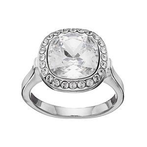 Brilliance Crystal Halo Ring with Swarovski Crystals