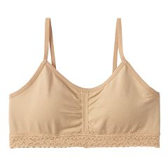 Girls 7-16 Maidenform Lace Crop Bra