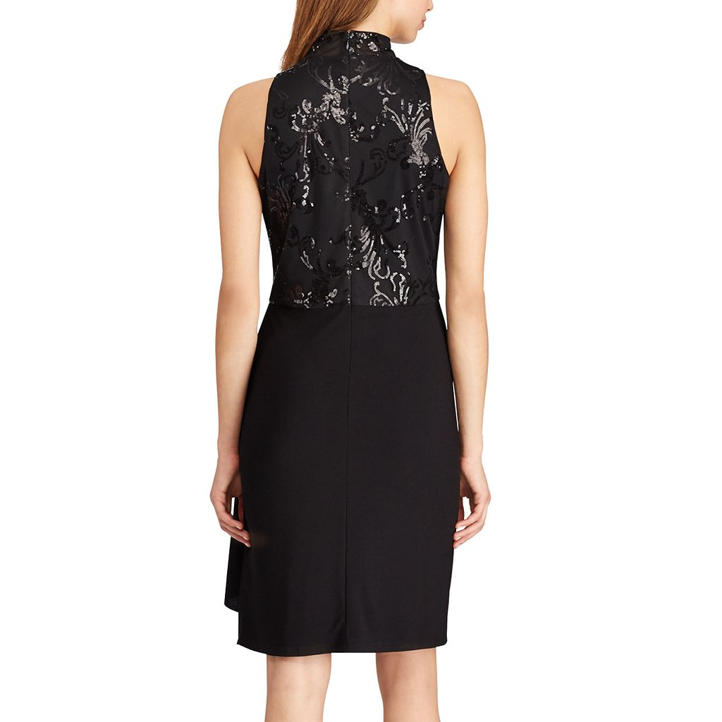 Women's Chaps Sequin Evening Sheath Dress