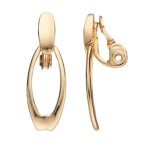 Napier Door Knocker Clip On Earrings