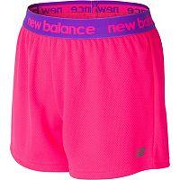 Girls 7-16 New Balance Core Performance Shorts