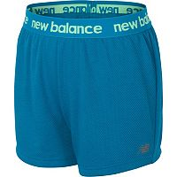 Girls 7-16 New Balance Core Performance Shorts