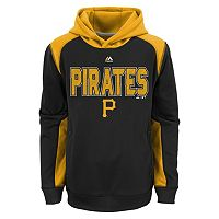 Boys 8-20 Majestic Pittsburgh Pirates Geo Fuse Hoodie