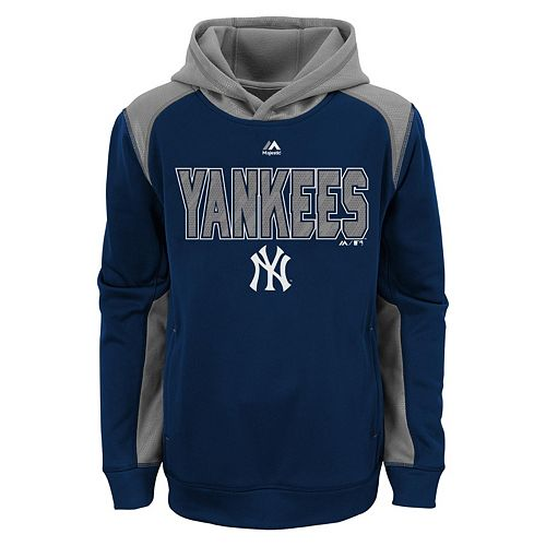 innovative design a300e 1b092 Boys 8-20 Majestic New York Yankees Geo Fuse Hoodie