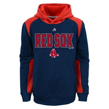 Boys 8-20 Majestic Boston Red Sox Geo Fuse Hoodie