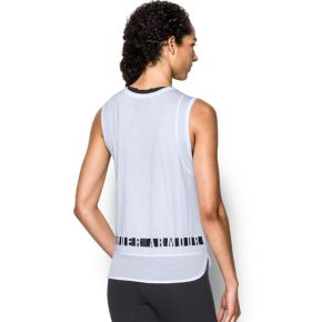 Women's Under Armour Favorite Mesh Graphic Tank