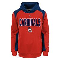 Boys 8-20 Majestic St. Louis Cardinals Geo Fuse Hoodie