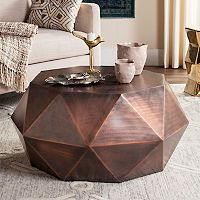 Safavieh Modern Geometric Coffee Table