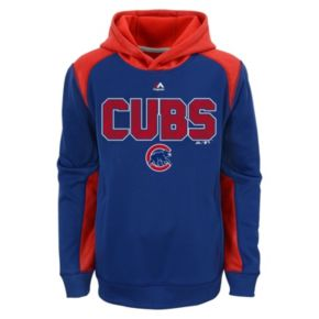 Boys 8-20 Majestic Chicago Cubs Geo Fuse Hoodie