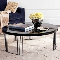 Safavieh Mid-Century Scandinavian Round Coffee Table