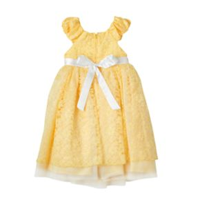Girls 4-6x Disney Princess Belle Costume Dress