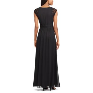 Women's Chaps Lace-Sleeve Georgette Evening Gown