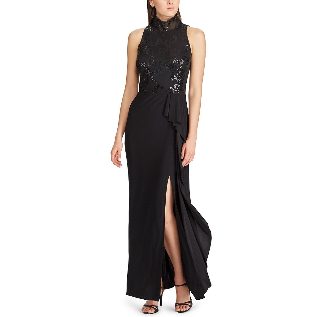 Women's Chaps Sequin Jersey Evening Gown