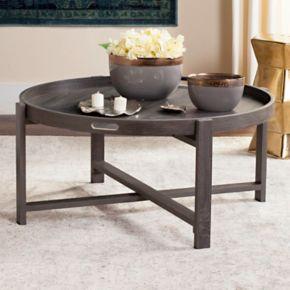 Safavieh Mid-Century Modern Tray Top Coffee Table