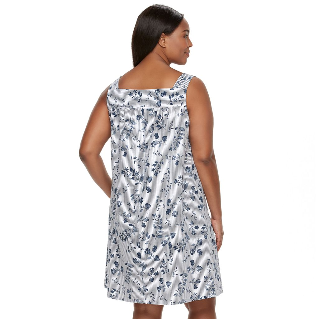 Plus Size Croft & Barrow® Pajamas: Crochet Nightgown