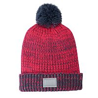 Girls 4-16 Under Armour Shimmer Knit Pom Beanie