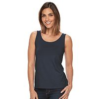 Women's Croft & Barrow® Essential Scoopneck Tank