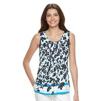 Women's Croft & Barrow® Pintuck Tank